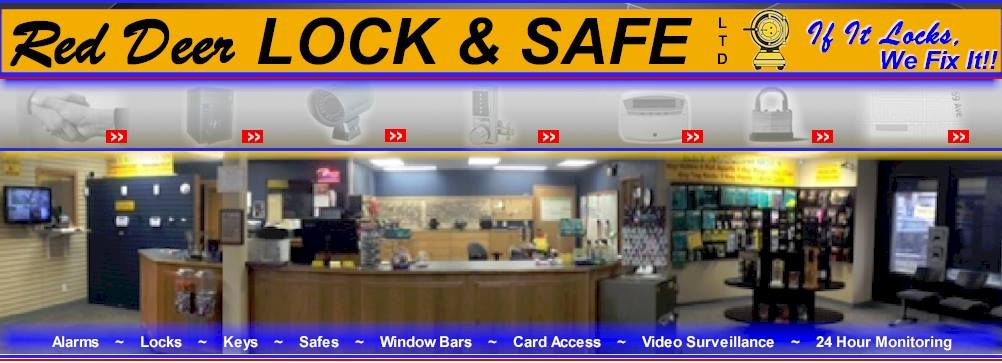 RED DEER LOCK & SAFE LTD image 0