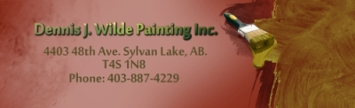 DENNIS J. WILDE PAINTING INC. logo
