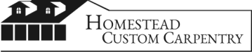 HOMESTEAD CUSTOM CARPENTRY logo