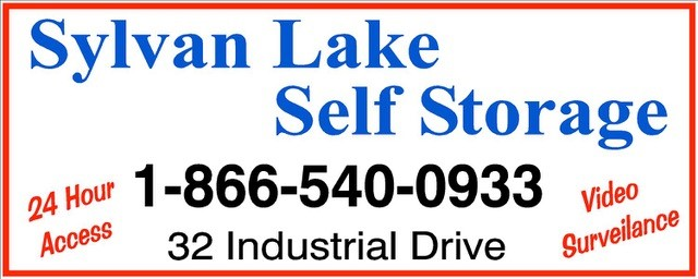 SYLVAN LAKE SELF STORAGE logo