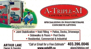 A-TRIPLE-M CONTRACTING LTD. logo
