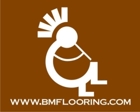 B & M FLOORING INC logo