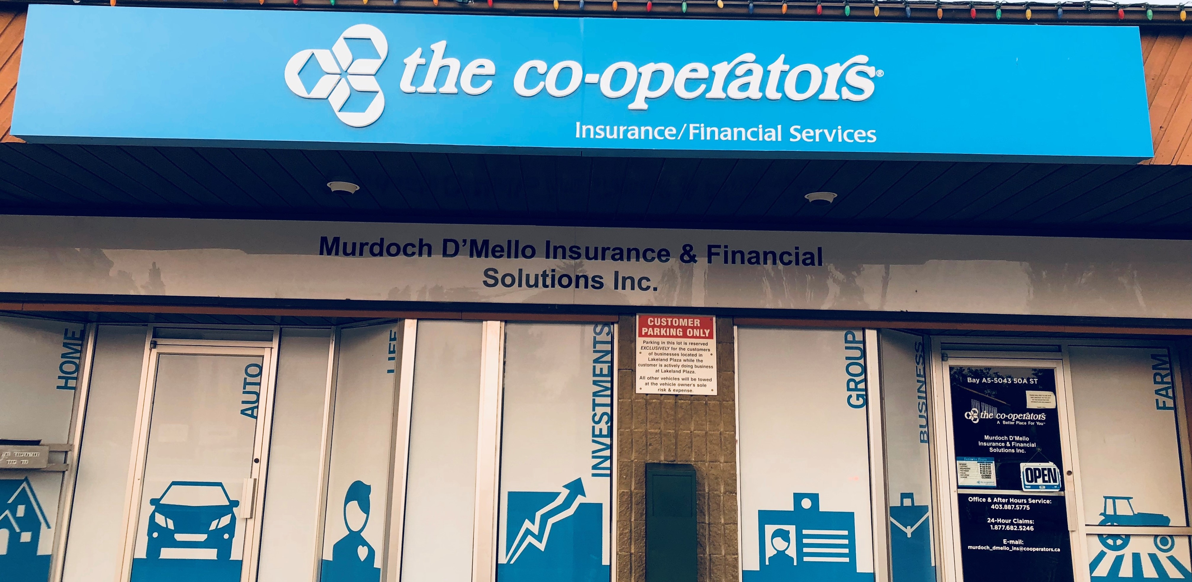 THE CO-OPERATORS, MURDOCH D'MELLO INSURANCE & FINANCIAL SOLUTIONS INC image 1