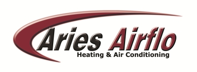 ARIES AIRFLO HEATING & AIR CONDITIONING logo