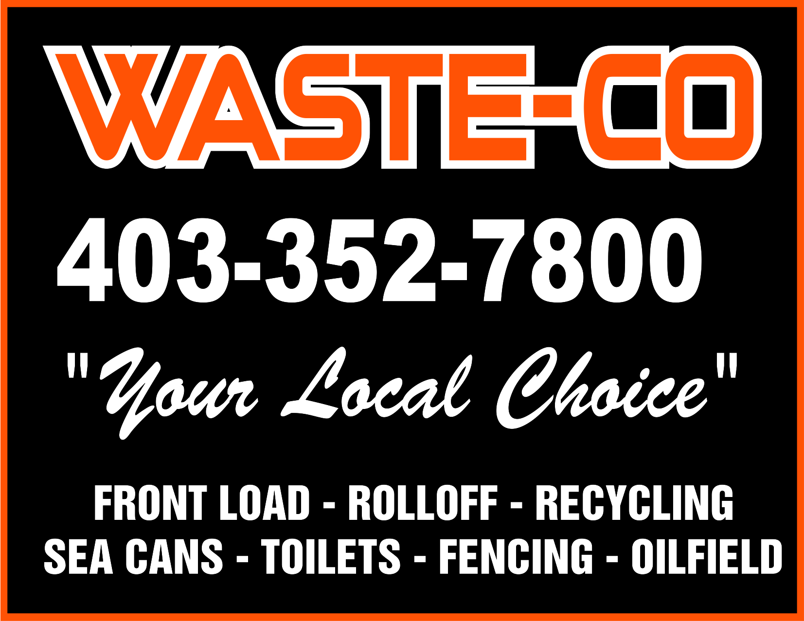 WASTE-CO DISPOSAL SYSTEMS INC logo